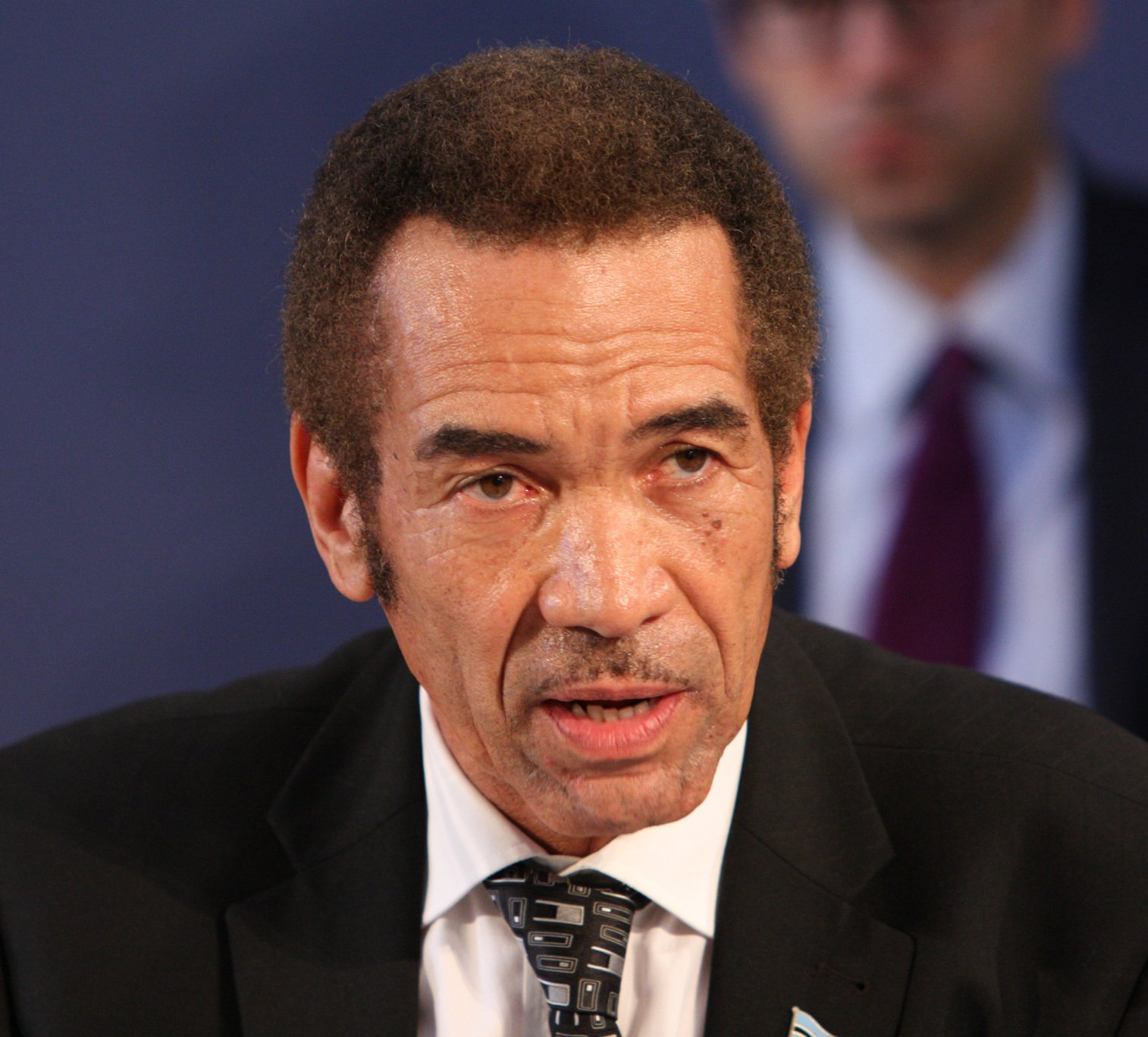 Khama says he will not take coronavirus vaccine yet